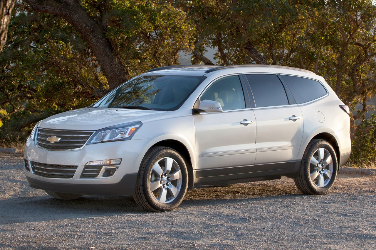 2016 Chevrolet Traverse LS SUV Slide 0