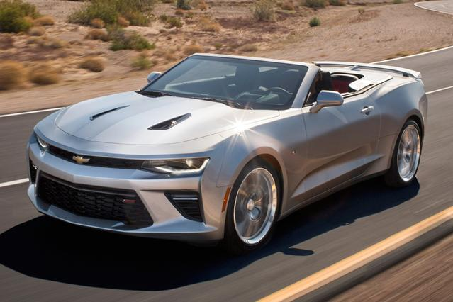 2016 Chevrolet Camaro 2SS 2dr Car Slide 0