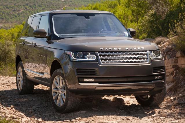 2016 Land Rover Range Rover HSE SUV Slide 0