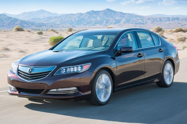 2016 Acura RLX TECH PKG 4dr Car Slide 0