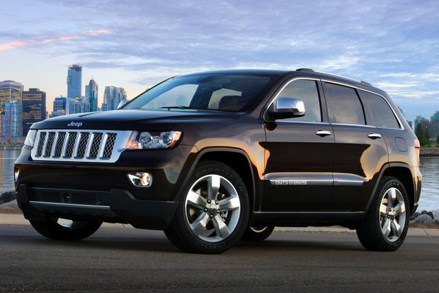 2013 Jeep Grand Cherokee LIMITED Sport Utility Slide 0