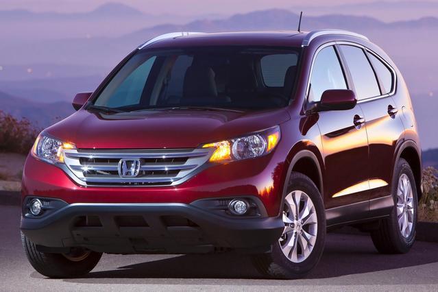 2012 Honda CR-V EX SUV Slide 0