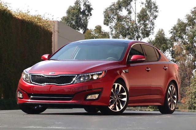2014 Kia Optima SXL TURBO 4dr Car Slide 0