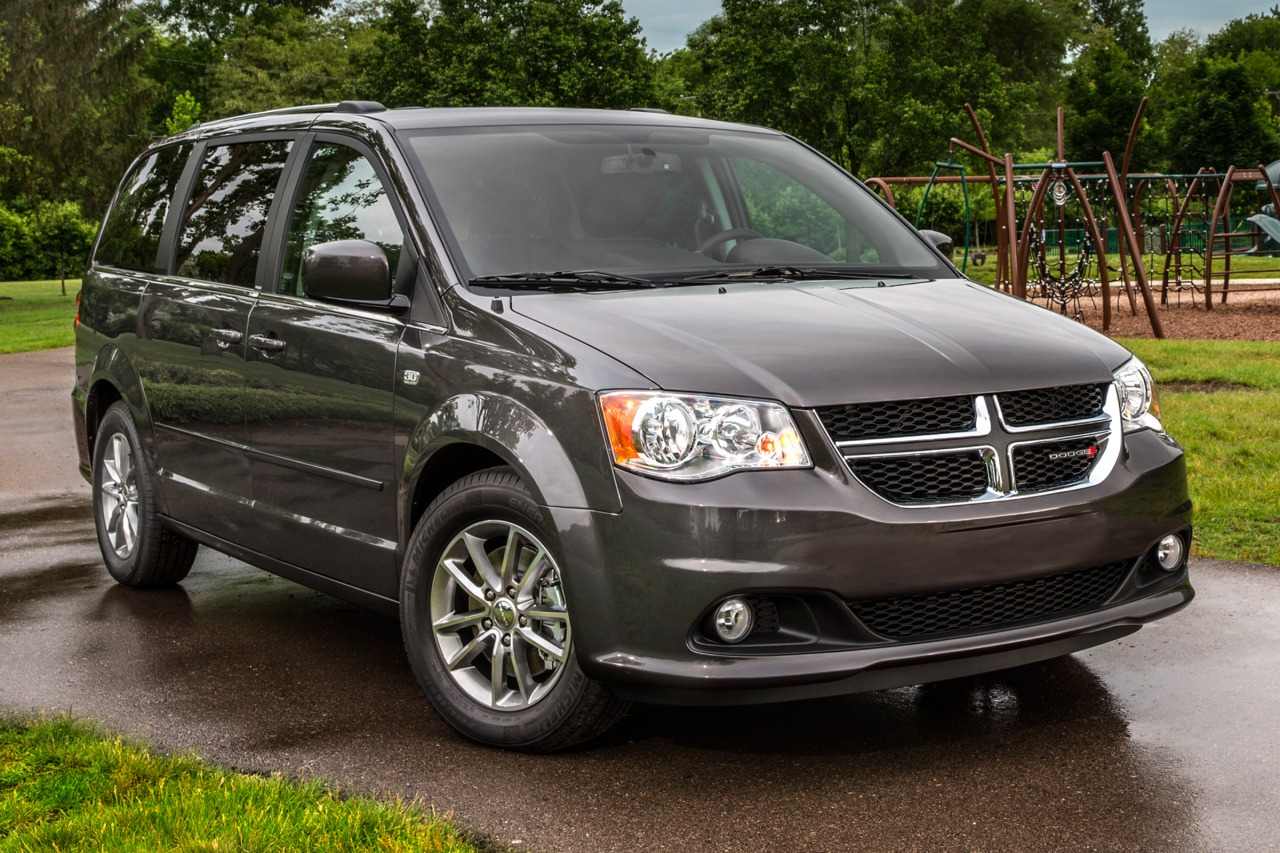 2014 Dodge Grand Caravan SXT Mini-van, Passenger Slide 0