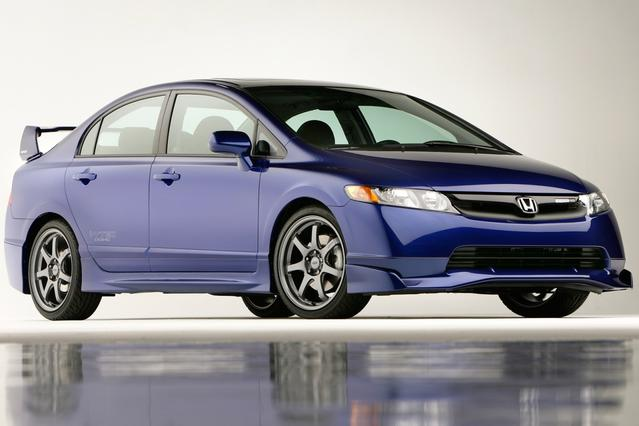 2008 Honda Civic SI Slide 0