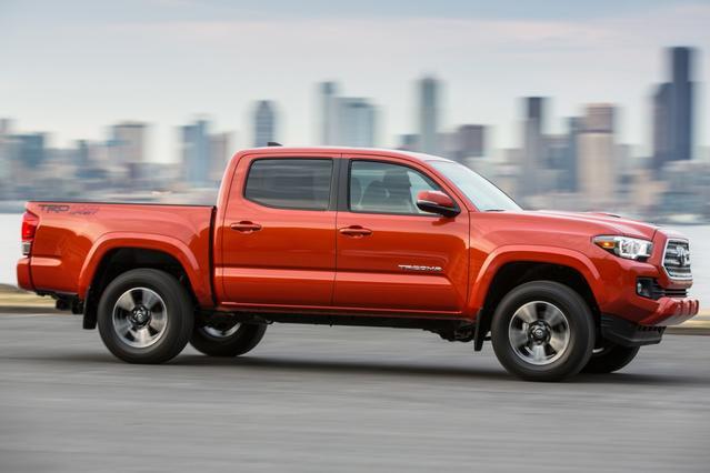 2016 Toyota Tacoma  Crew Pickup Slide 0