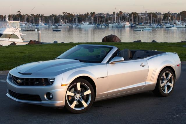 2012 Chevrolet Camaro 1LT Convertible Slide 0