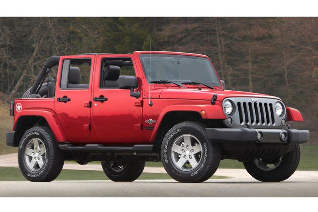 2015 Jeep Wrangler Unlimited SPORT SUV Slide 0
