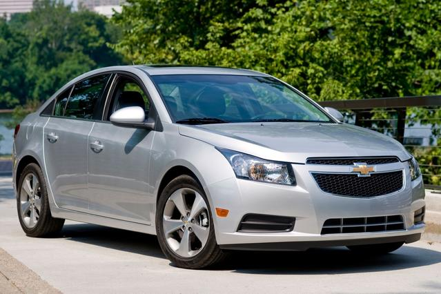 2012 Chevrolet Cruze LS 4dr Car Slide 0