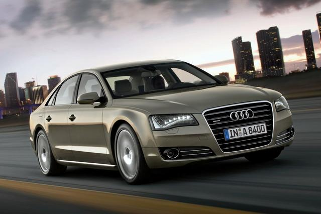 2012 Audi A8 L 4.2 4dr Car Slide 0