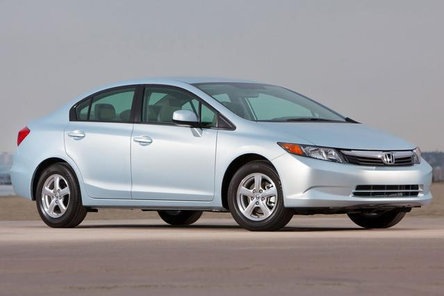 2012 Honda Civic Sdn EX-L 4dr Car Slide 0