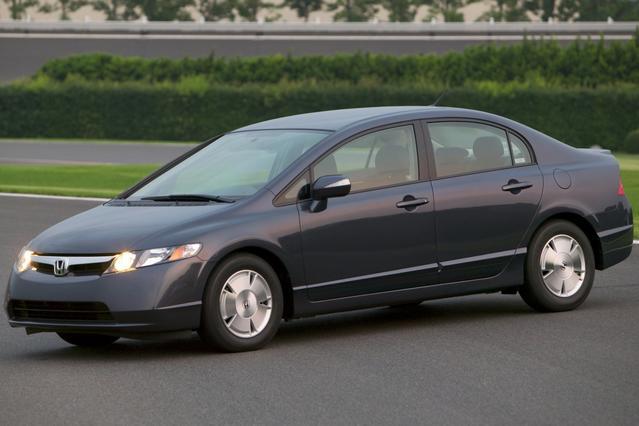 2008 Honda Civic Cpe LX 2dr Car Slide 0