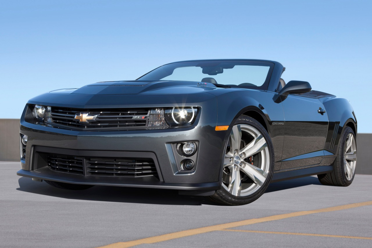 2015 Chevrolet Camaro SS Convertible Slide 0