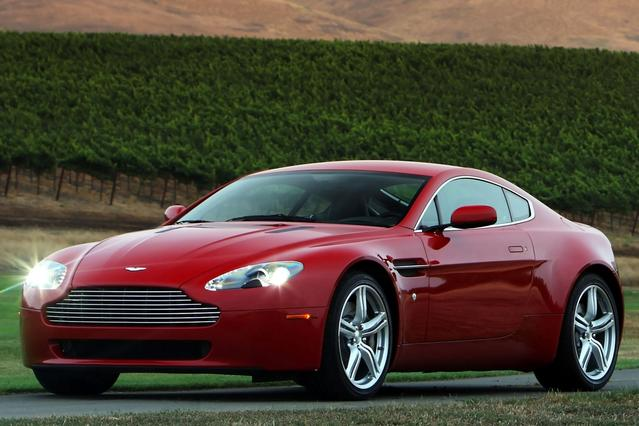 2012 Aston Martin V8 Vantage  2dr Car Slide 0