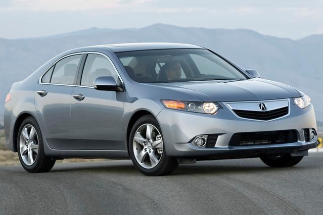2012 Acura TSX 2.4 4dr Car Slide 0