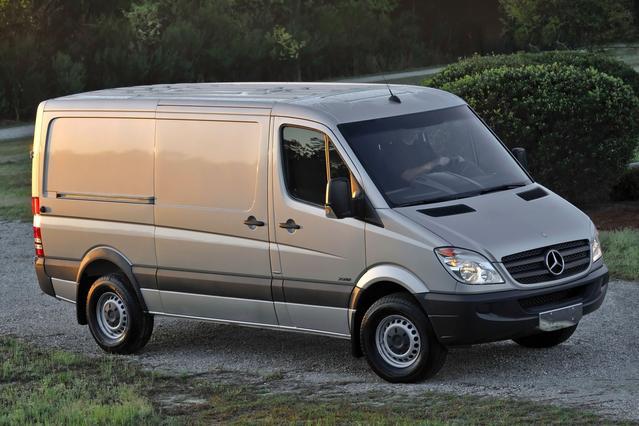 2013 Mercedes-Benz Sprinter 2500 CREW 144 WB Full-size Passenger Van Slide 0