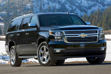 Black 2015 Chevrolet Suburban LTZ  Hillsborough NC