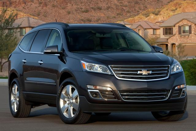 2017 Chevrolet Traverse LT SUV Slide 0