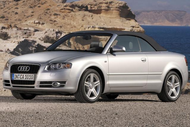 2007 Audi A4 2.0T CABRIOLET Convertible Slide 0