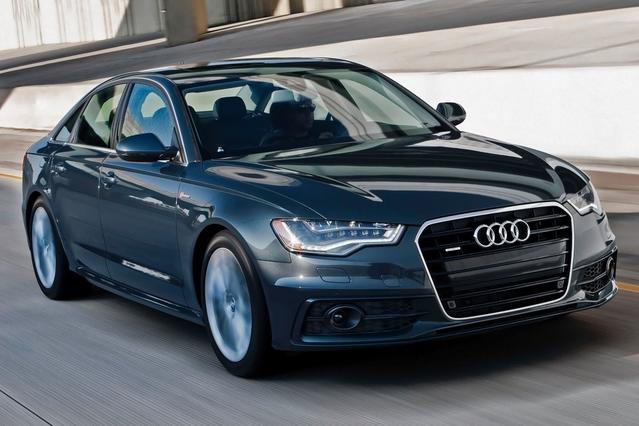 2015 Audi A6 2.0T PREMIUM PLUS 4dr Car Slide 0