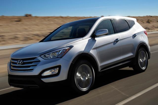 2014 Hyundai Santa Fe Sport  Sport Utility Slide 0