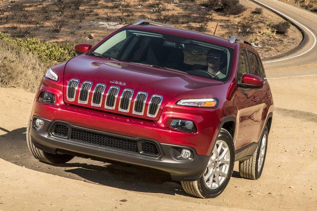 2014 Jeep Cherokee TRAILHAWK Sport Utility Slide 0