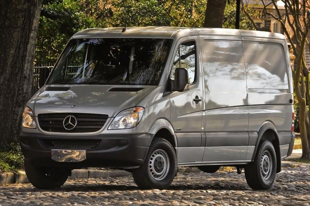 2015 Mercedes-Benz Sprinter Cargo Vans 3500 170 Van Slide 0