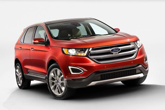 2015 Ford Edge SE SUV Slide 0