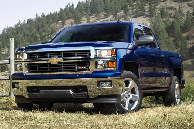 "2014 Chevrolet Silverado 1500 4WD CREW CAB 143.5"" LTZ W/2LZ  NC"