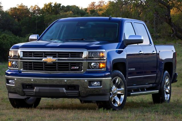 2014 Chevrolet Silverado 1500 WORK TRUCK Regular Cab Pickup Slide 0