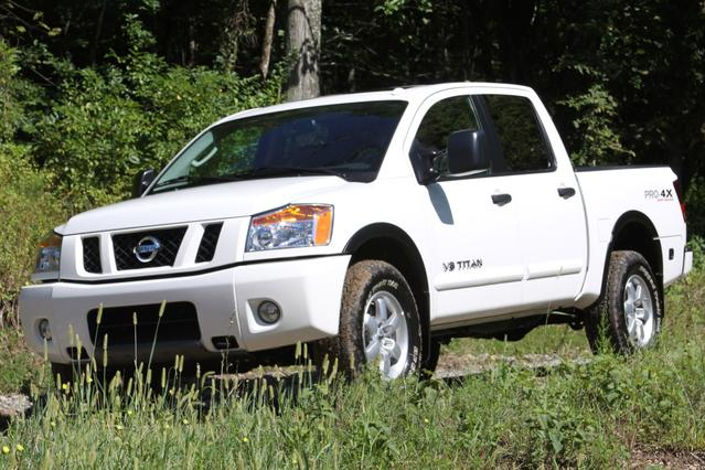 2012 Nissan Titan PRO Crew Cab Pickup Slide 0