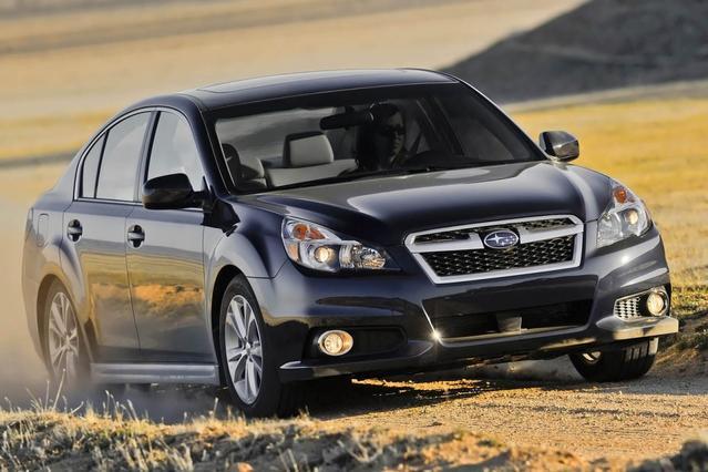 2014 Subaru Legacy 2.5I SPORT 4dr Car Slide 0