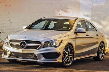 Gray 2014 Mercedes-Benz CLA CLA 250  Wake Forest NC