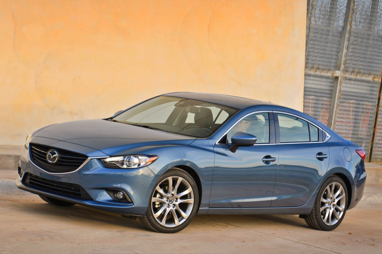 2014 Mazda Mazda6 I GRAND TOURING 4dr Car Slide 0