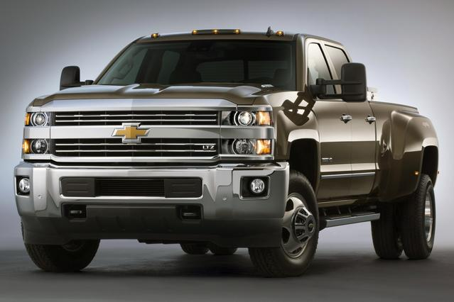 2015 Chevrolet Silverado 3500HD WORK TRUCK Truck Slide 0