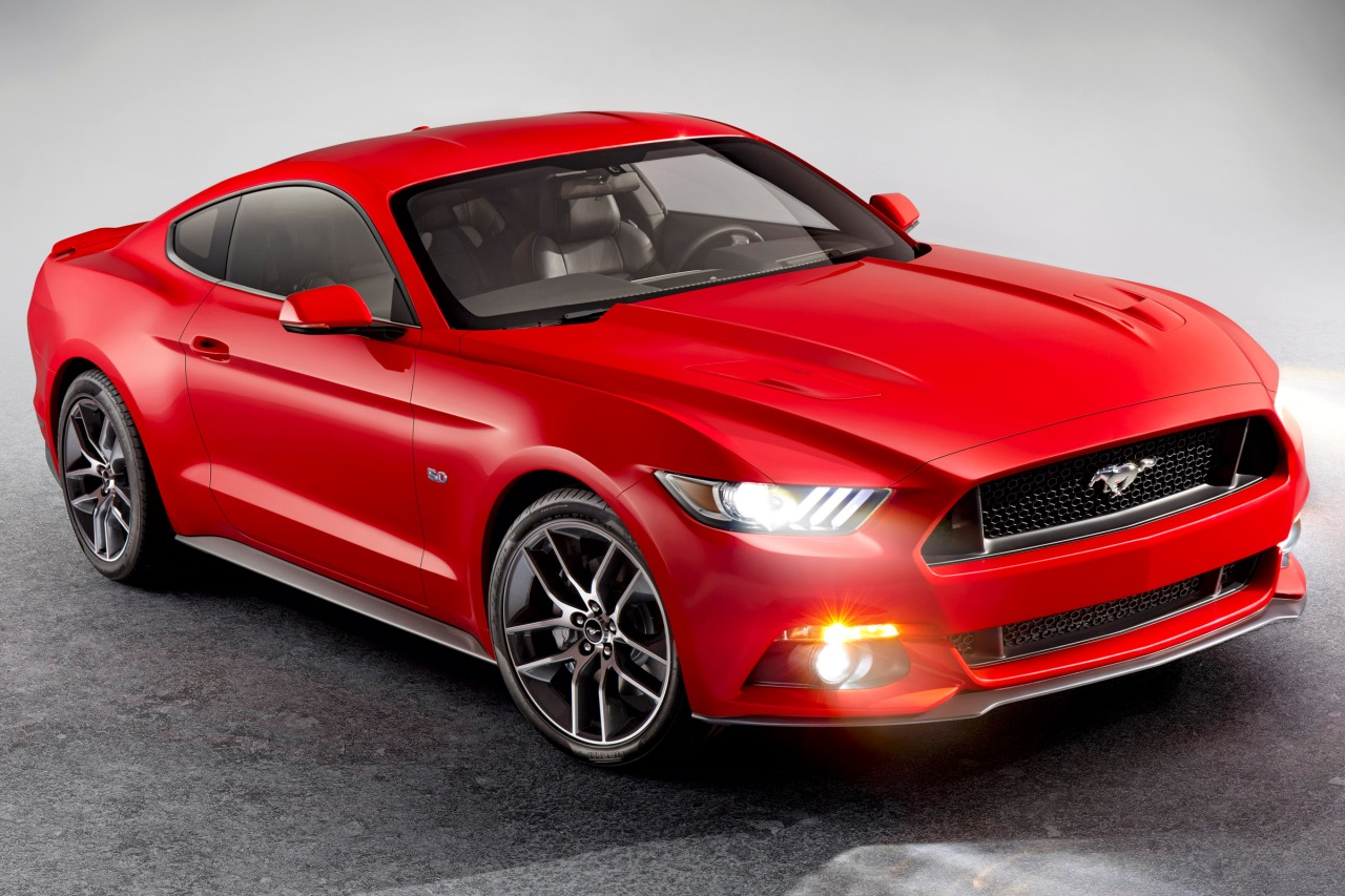 2015 Ford Mustang ECOBOOST PREMIUM Slide 0
