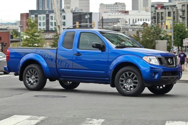 2014 Nissan Frontier S Extended Cab Pickup Slide 0