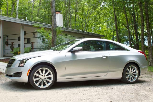 2015 Cadillac ATS Coupe PERFORMANCE RWD Coupe Apex NC