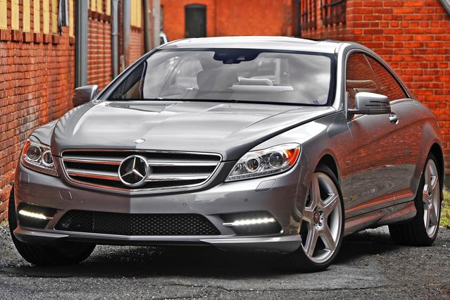 2012 Mercedes-Benz CL-Class CL 63 AMG® 2dr Car Slide 0