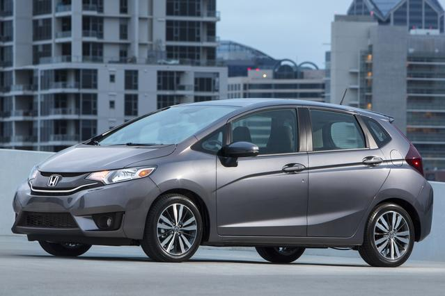 2015 Honda Fit EX-L Hatchback 4 Dr. Slide 0