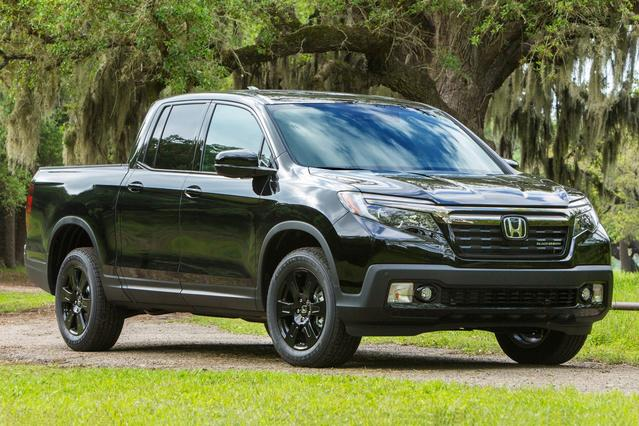 2017 Honda Ridgeline BLACK EDITION Pickup Slide 0