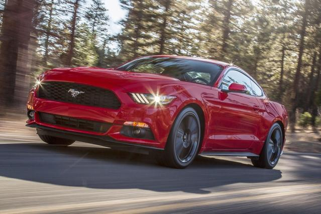 2017 Ford Mustang ECOBOOST 2dr Car Slide 0