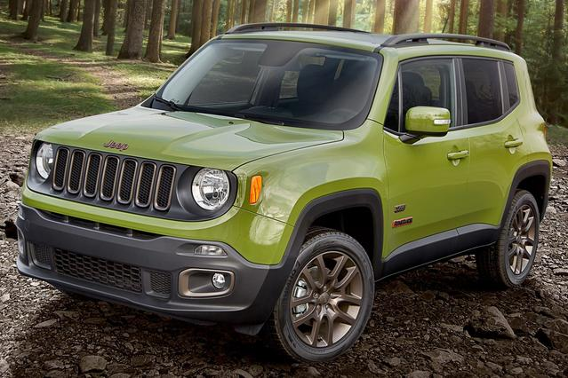 2016 Jeep Renegade TRAILHAWK SUV Slide 0