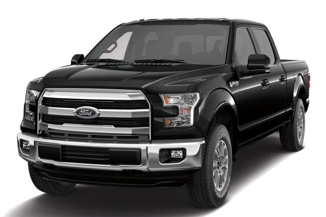 2015 Ford F-150 XLT Crew Cab Pickup Slide 0
