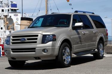 White 2014 Ford Expedition XL  Lexington NC