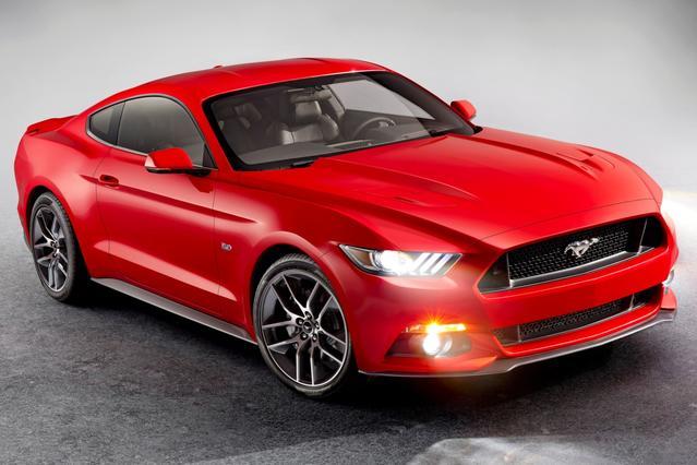 2015 Ford Mustang V6 Convertible Slide 0