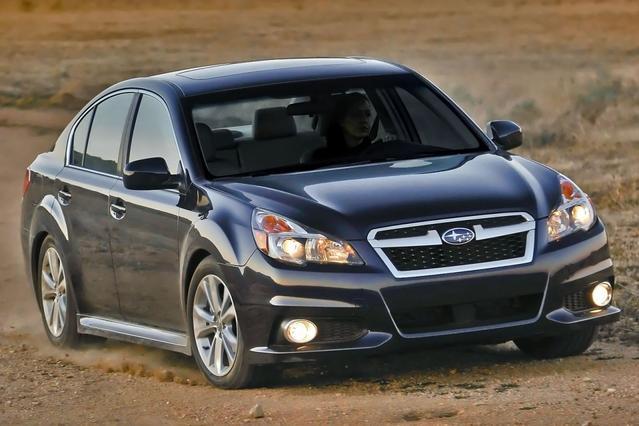 2013 Subaru Legacy 3.6R LIMITED 4dr Car Slide 0