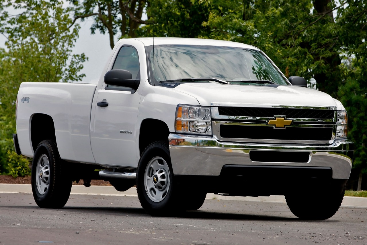 2013 Chevrolet Silverado 3500HD WORK TRUCK Truck Slide 0