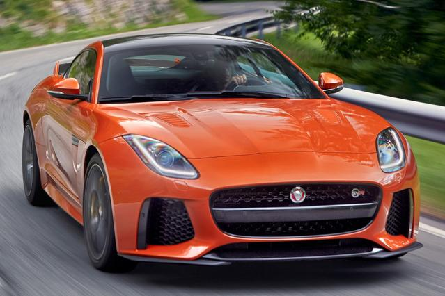 2017 Jaguar F-TYPE SVR Slide 0
