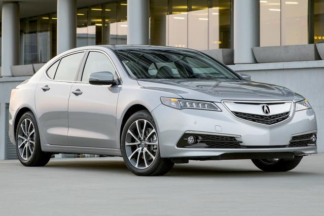 2016 Acura TLX 2.4L 4dr Car Slide 0